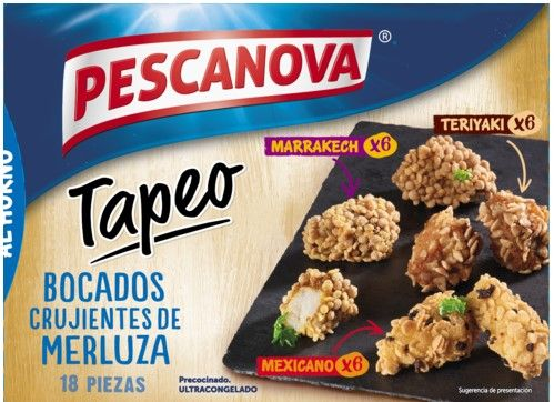 Ready Meals for baking: Tapeo by Pescanova