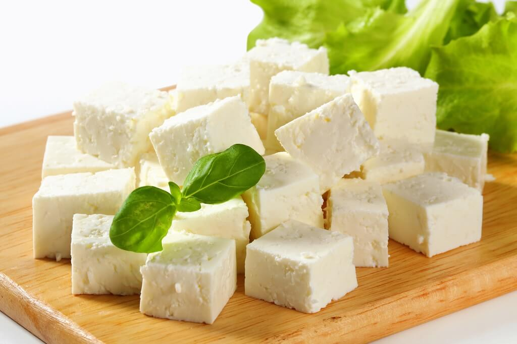 Feta cheese, a food where the growth of Listeria monocytogenes is possible